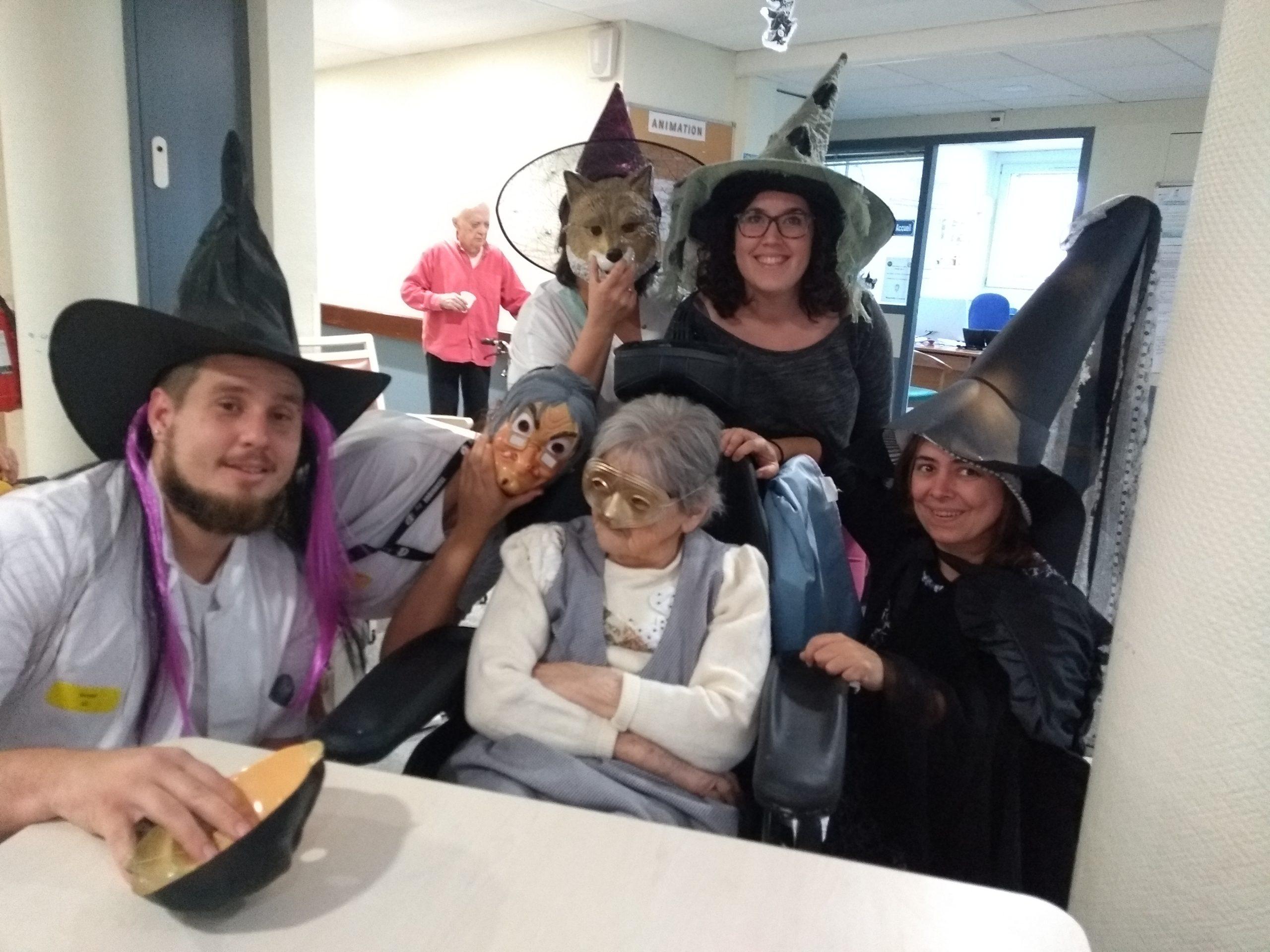 On a fêté Halloween !
