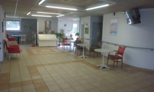 Espace d'accueil ouvert et accessible