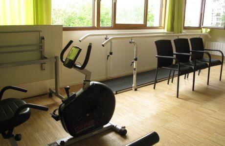 Salle d'ergo et de kinésithérapie