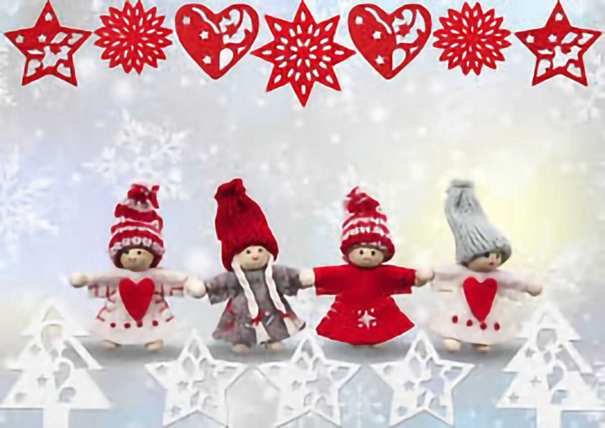 Fête de Noël et réunion des familles