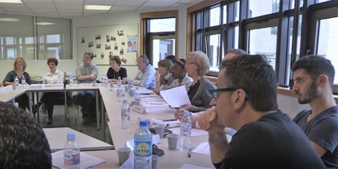 Organisation d'un groupe de travail avec d'autres instances de réflexion éthique