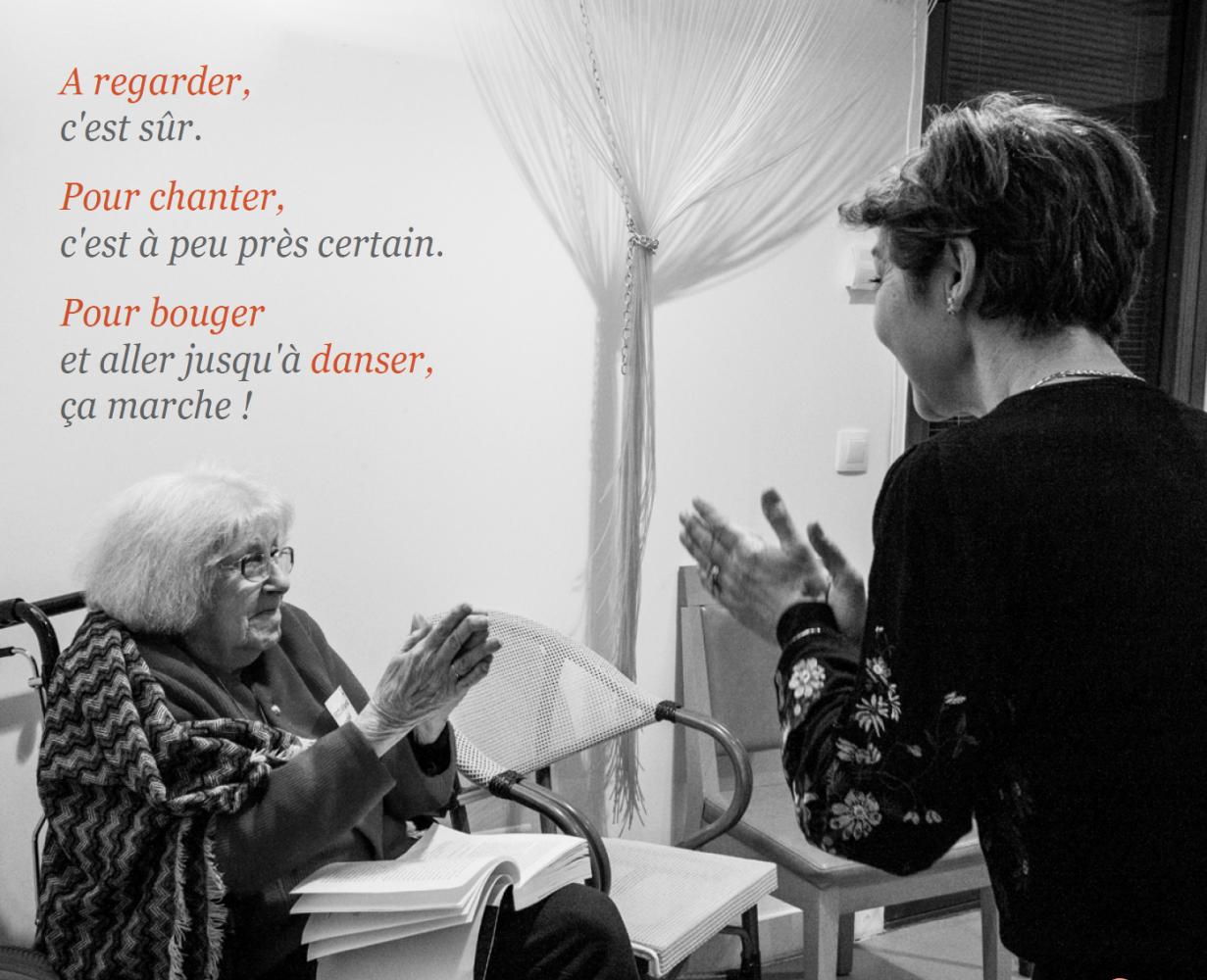 Pour chanter, bouger et danser même déconfinés Tuto Tango de la Caravane de la mémoire – Opus n°6